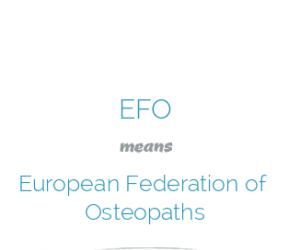 Federación Europea de Osteópatas y Norma Europea EN16686